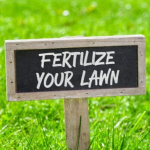 Part of your 2020 lawn care checklist should be a consistent lawn fertilization program to keep your grass happy and fed.