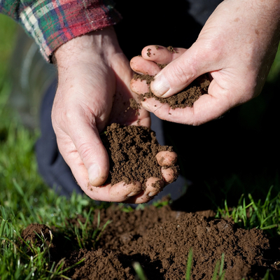 soil testing by hand